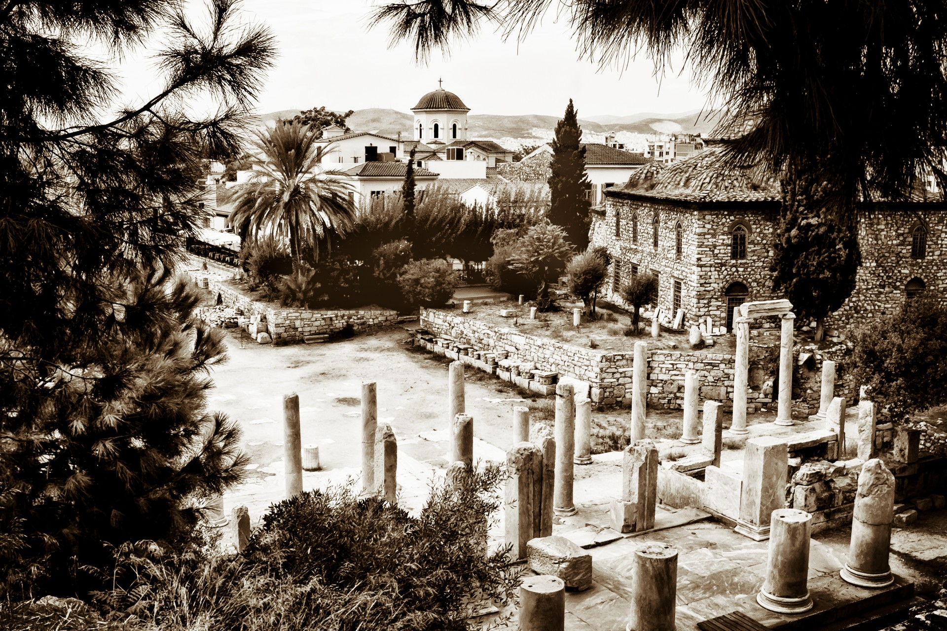 Roman Agora, Greece